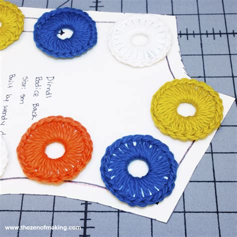 pattern weights washers video tutorial crocheted metal washer pattern weights