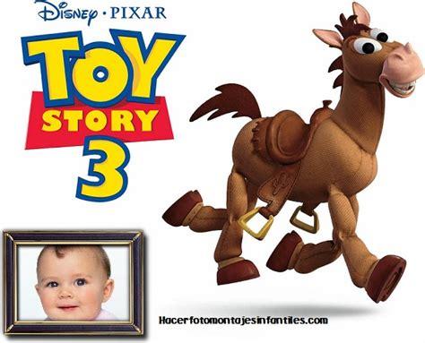 imagenes feliz cumpleaños toy story fotomontajes caballito de toy story fotomontajes infantiles