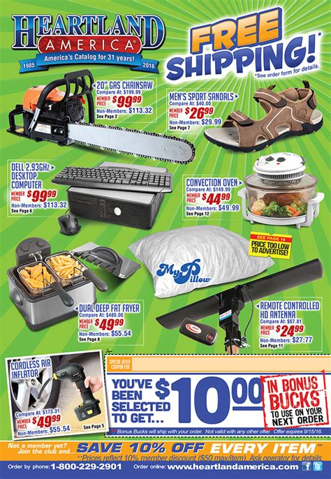heartland america   bargains closeouts