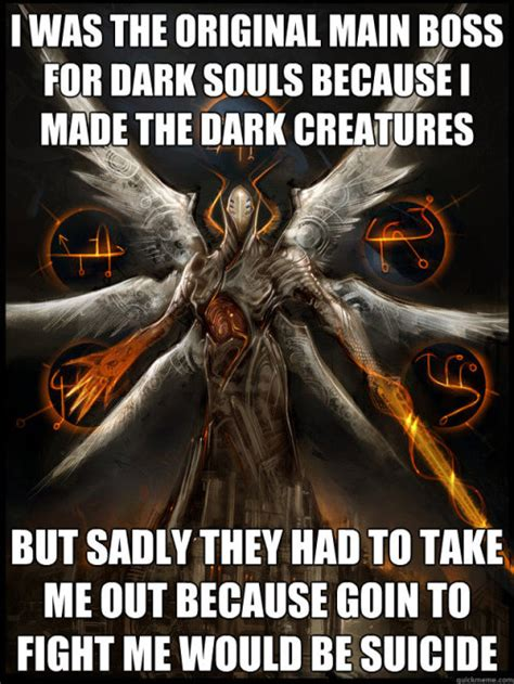 Funny Dark Souls Memes - a dissertation on self righteousness do you even praise