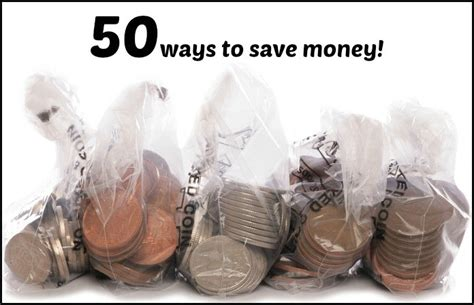 50 ways to save the diary of a frugal family