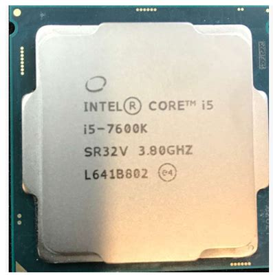 Intel I5 7600k 38ghz Cache 6mb Socket Lga 1151 Kabylake intel i5 7600k 3 8ghz 6mb cache tdp 91w 14 nanometers desktop lga 1151 cpu
