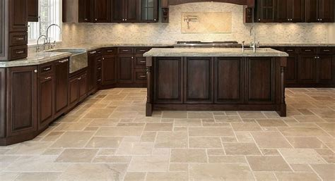 contemporary kitchen pros and cons of kitchen flooring