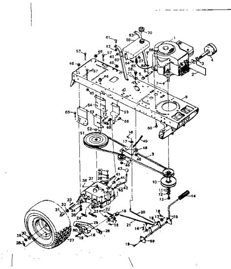 sears lawn tractor parts diagram sears craftsman lawn tractor parts bloggerluv