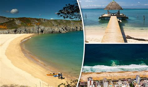 worlds best beaches barafundle bay in wales has been voted in the world s best beaches travel news travel