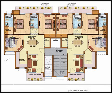 400 Yard Home Design 3bhk apartment for sale in sector 87 faridabad at srs