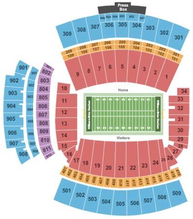 williams brice seating chart williams brice stadium tickets in columbia south carolina