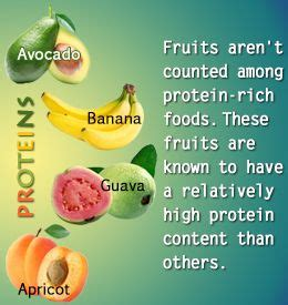 fruit high in protein high protein fruits