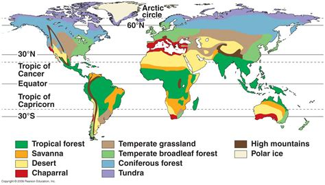 climate zones  biomes lesson  tqa explorer