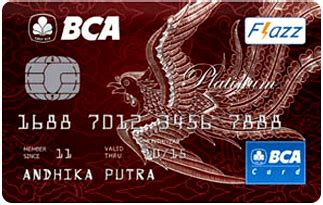 bca credit card bca silver card fees