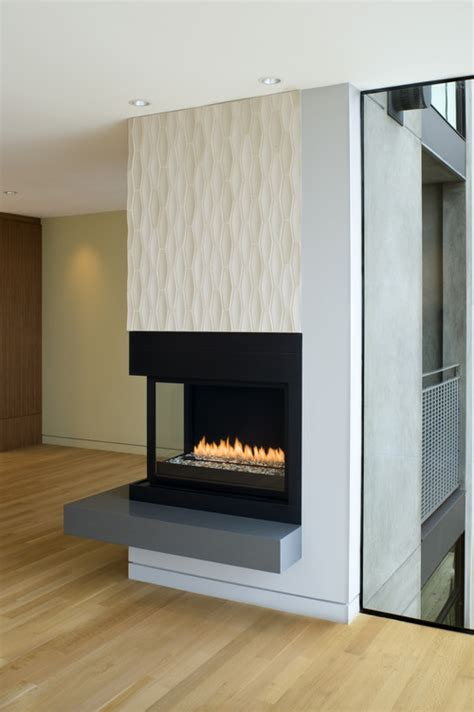 2 sided electric fireplace does anyone any ideas about how to incorporate this