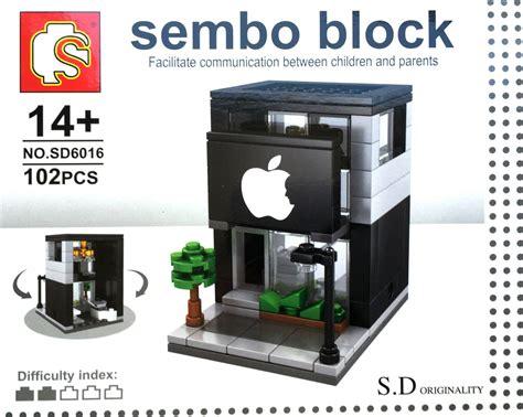 Sembo Block Shop Sd6011 sembo block s d originality high shop series sd6016 two stories apple store