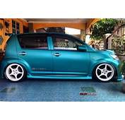 Green Modified Myvi  Share My Ride GK059 Galeri Kereta