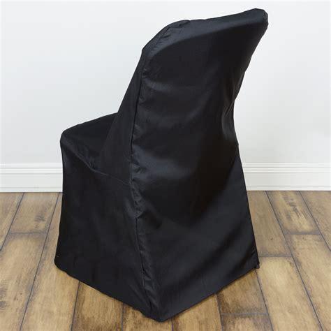 folding chair slipcovers 25 pcs lifetime folding chair covers slipcovers polyester wedding party linens ebay