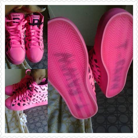 reebok classic throwback tyga t raww pink leopard cheetah