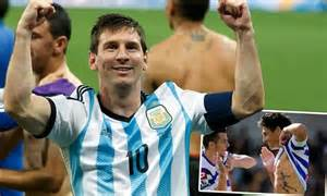 lionel messi tattoo pictures alejandro faurlin vows to get a tattoo of lionel messi if