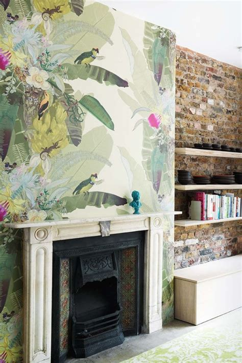 Sofa Cushions Uk by 5 Tips For Decorating With Feature Wallpaper Sophie Robinson