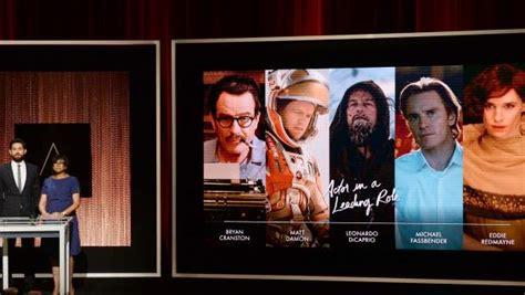Todos Los Nominados A Los Premios Oscar Diario El Comunal El Listado Completo De Las Nominaciones A Los Premios Oscar 2016