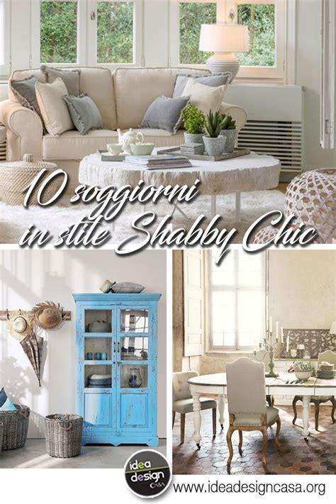 soggiorno shabby soggiorno in stile shabby chic vissuto e romantico 10