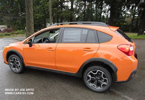 subaru orange crosstrek 2015 subaru xv crosstrek exterior photo page 1 2015 models