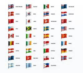 flags by color country flags icon set web icon set