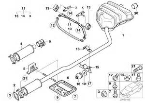 Exhaust System Parts Names Mini R50 Coupe Cooper Usa Exhaust System Exhaust System