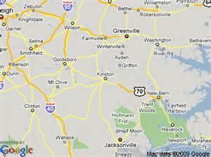 kinston carolina map kinston carolina
