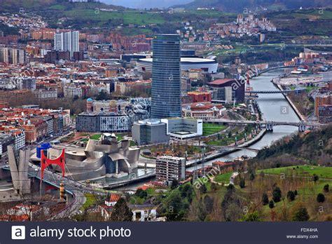 bilbao pais vasco partial view of bilbao basque country pais vasco spain