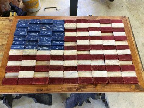 woodworking america scrap 2x4 flag wilker do s