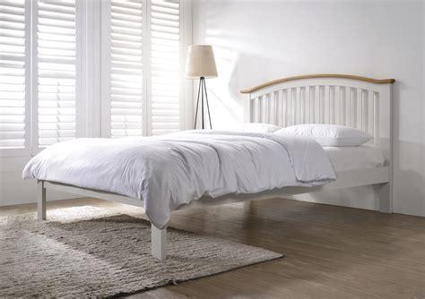 Flintshire Furniture by Leeswood Grey Oak Finish Bed Frame From Flintshire Furniture