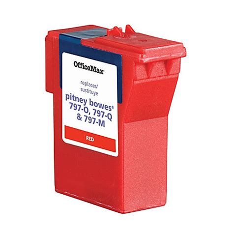 officemax brand ink refill for pb mail station k700 by