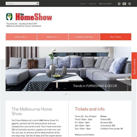 home design shows melbourne 100 home design shows melbourne the secret to