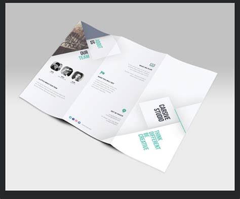 5 tri fold brochure templates free download graphics