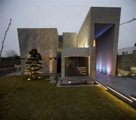 contemporary architecture madrid striking contemporary home design in madrid spain