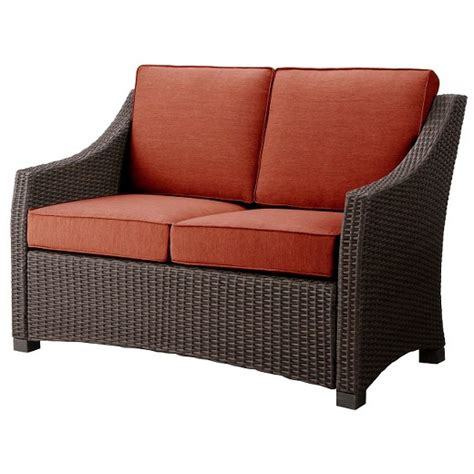 Belvedere Patio Furniture Belvedere Wicker Patio Furniture Collection Threshold Target