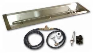 Gas Pit Kit Diy Linear Gas Pit Kit Modern Pit