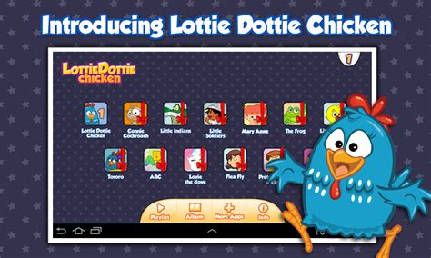redeeming lottie books lottie dottie chicken android apps on play