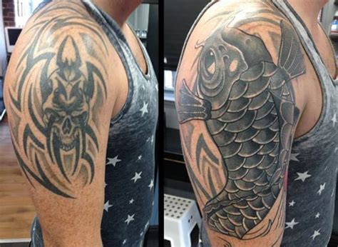 covering up a tribal tattoo 14 best cover up ideas images on ideas