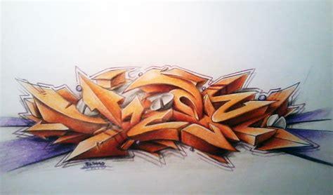 imagenes en 3d grafitis graffiti 3d a lapiz imagui