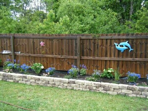 flower bed fence 301 moved permanently