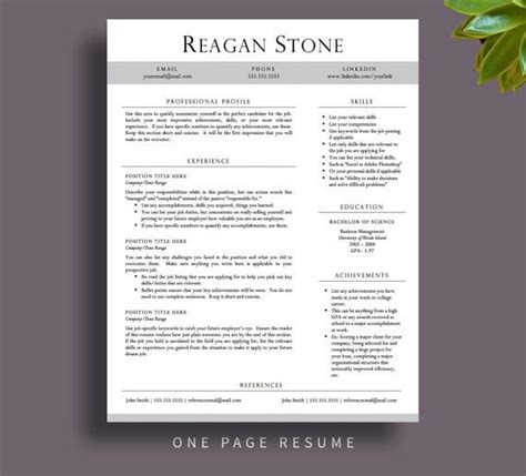 free resume templates that stand out the world s catalog of ideas
