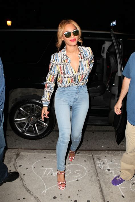 How Do You Rate Beyonces Casual Look by Beyonce In H M In Designer