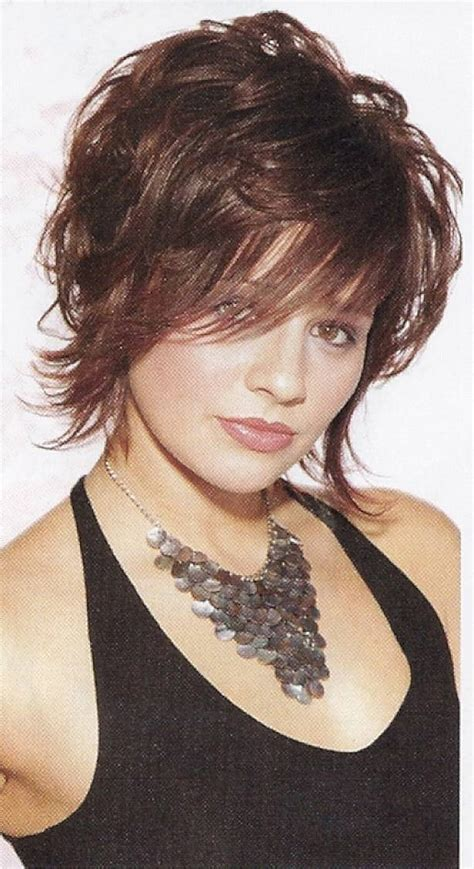 hairstyles for curly and messy hair short sassy haircuts for wavy hair with messy style