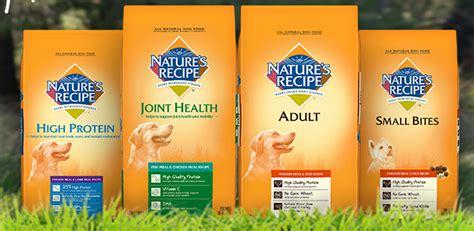 nature s recipe food nature s recipe pet food recall info petful
