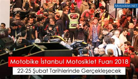 istanbul motosiklet fuari   subat tarihleri