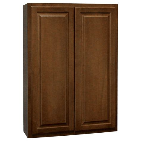 hton bay cognac cabinets hton bay hton assembled 30x42x12 in wall kitchen