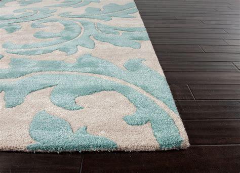 turquoise rug 8x10 aloha baroque leaf area rug 5x8