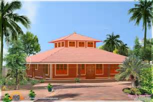 kerala home design single floor low cost single storied low cost brick home design kerala home