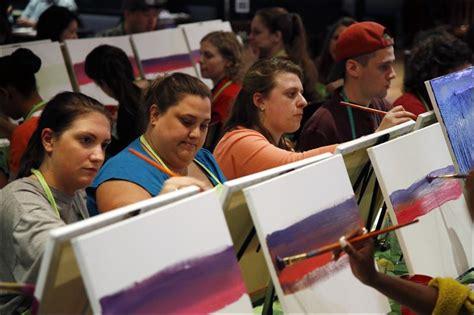 paint nite boston contact number social painting grows popular at bars studios