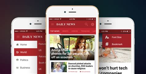 Ionic Theme Ionic Template For Mobile News Blog Magazine Application Dailynews By Tdmobile Magazine Template App